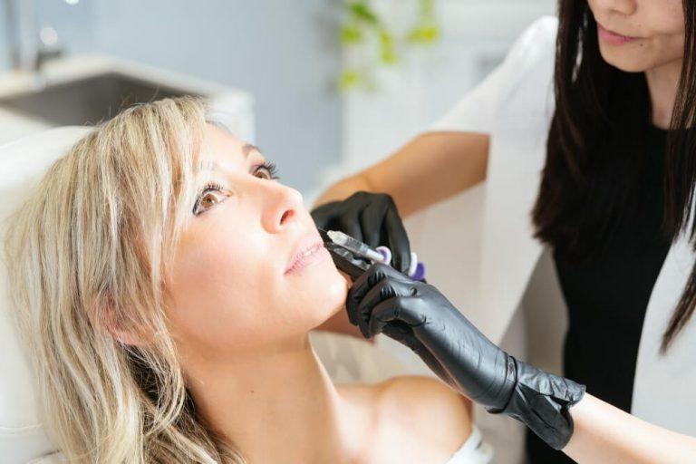 Cheek enhancement treatment