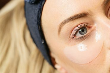eye treatment close up